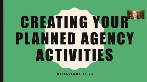 Thumbnail for entry 555 Planned Agency Activities Behaviors 11-22