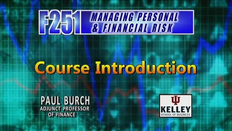 Thumbnail for entry F251 00 Course Introduction