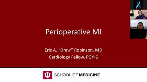 Thumbnail for entry Post-op Acute MI Lecture