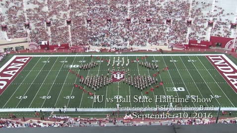 Thumbnail for entry 2016-09-10 vs Ball State - Halftime