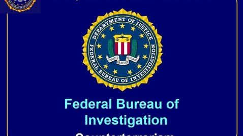 Thumbnail for entry J531 FBI Counter Terrorism