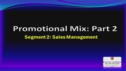 Thumbnail for entry M200 16-2 Sales Management