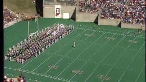 Thumbnail for entry 1987-10-03 vs Northwestern - Halftime