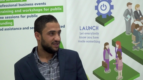 """Thumbnail for entry CIBER Focus: """"Startup Companies and Entrepreneurship in Palestine - Part 1"""" with Anas Tardei - November 19, 2017"""