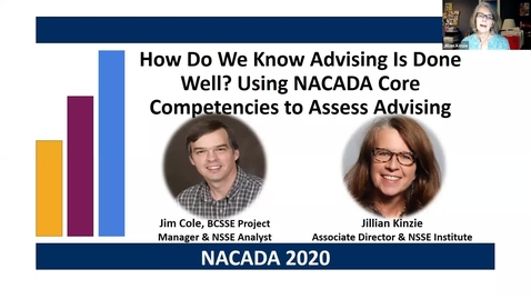 Thumbnail for entry NACADA 2020 Advising Quality presentation Cole and Kinzie