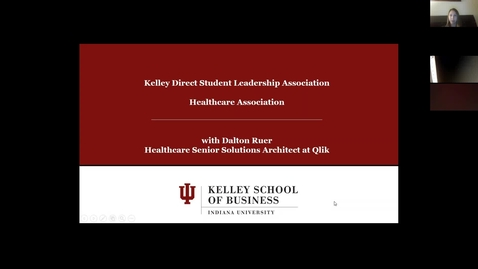 Thumbnail for entry KDHCA Careers in Healthcare - Data Analytics part 2 with Dalton Ruer  02.05.18