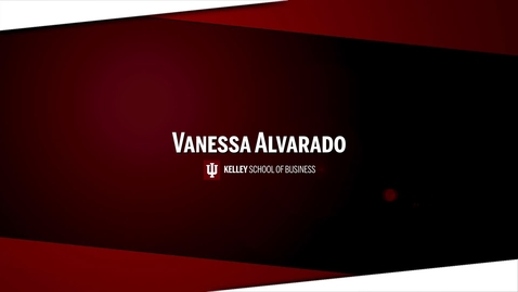 Thumbnail for entry Vanessa Alvarado Personal Brand Pitch