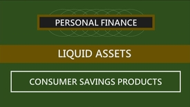 Thumbnail for entry F152 04-3 Consumer Savings Products