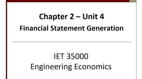 Thumbnail for entry IET 350 - Unit2.4