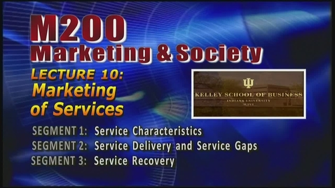 Thumbnail for entry M200 10-1 Service Characteristics