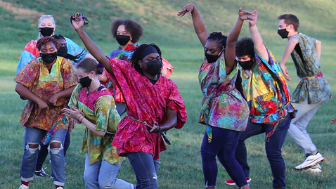 """Thumbnail for entry African American Dance Company presents """"Reaching Back While Moving Forward: A Switchyard Park Performance"""""""