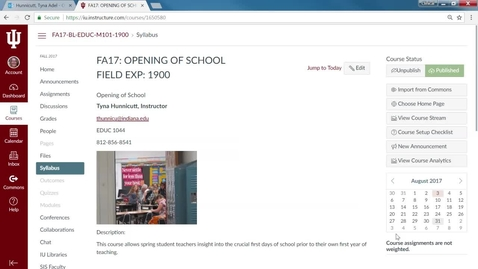 Thumbnail for entry Opening of School Canvas Overview