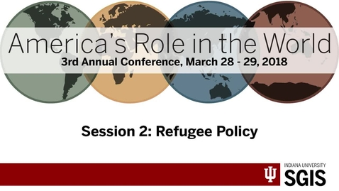 Thumbnail for entry America's Role in the World 2018 - Session 2: Refugee Policy