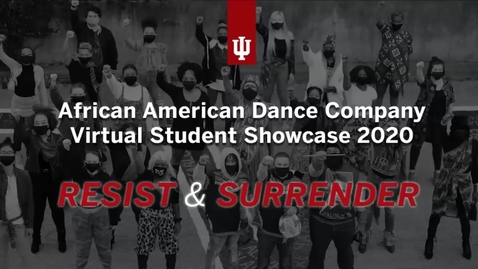 Thumbnail for entry ADC Student Showcase Live Virtual Event 2020