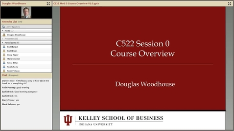 Thumbnail for entry dwoodhou MP4s_C522 Woodhouse_C522 Woodhouse Session 1 Intro