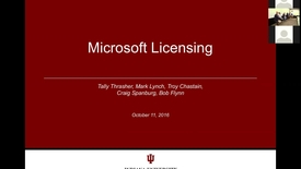 Thumbnail for entry MS licensing October 11 2016