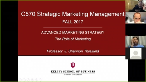 Thumbnail for entry Zoom Session 1: Strategic Marketing