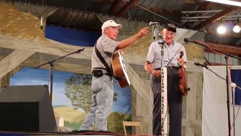 Thumbnail for entry Archie Krout playing at Indiana State Fair Fiddle Contest (2014)