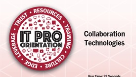 Thumbnail for entry Collaboration Technologies