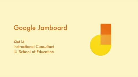 Thumbnail for entry _Using Google Jamboard
