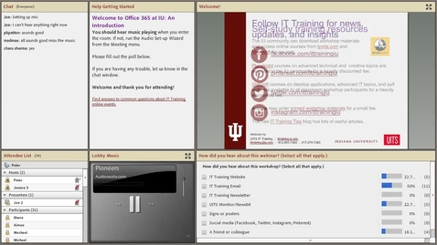 Thumbnail for entry Office 365 at IU: An Introduction