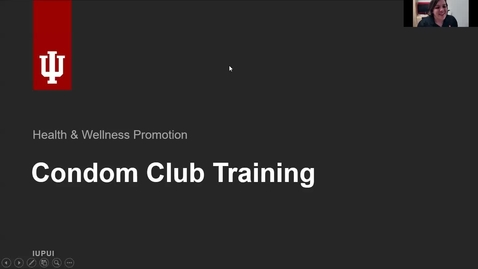 Thumbnail for entry Condom Club Training Webinar