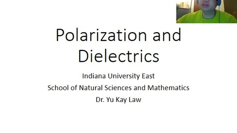 Thumbnail for entry Polarization and Dielectrics