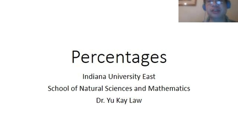 Thumbnail for entry Percentages