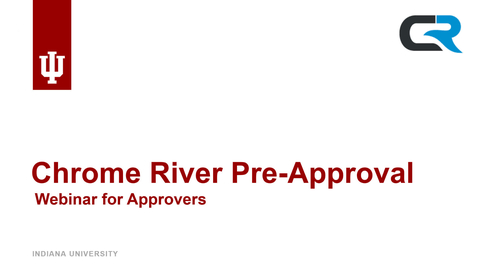 Thumbnail for entry Trip Pre-Approval for Approvers