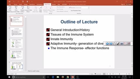 Thumbnail for entry SB Immuno development part1 2017 Feb 21 09:53:11