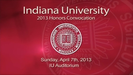 Thumbnail for entry 2013 Honors Convocation