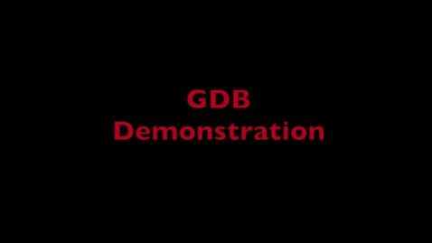 Thumbnail for entry L3 GDB Demo