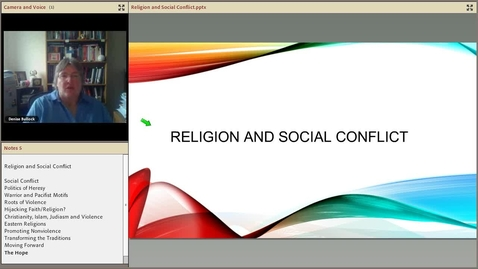 Thumbnail for entry Religion and Social Conflict