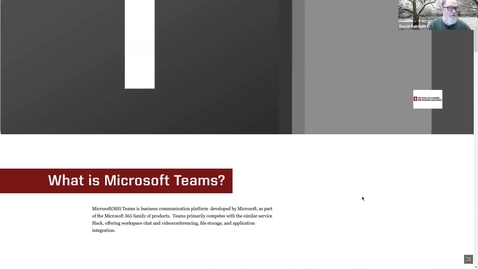 Thumbnail for entry Microsoft Teams: Pedagogical Uses
