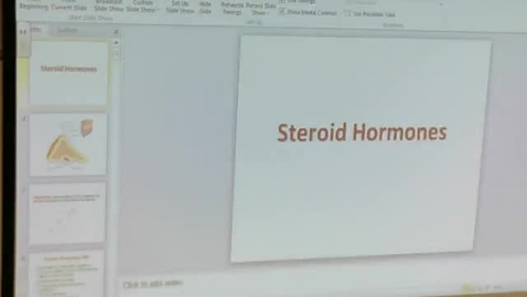 Thumbnail for entry Steroid Hormones 1