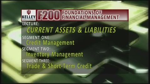Thumbnail for entry F200 13-1 Credit Management