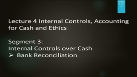 Thumbnail for entry A186 04-3 Internal Control, Accounting for Cash and Ethics