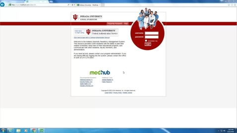 Thumbnail for entry MedHub Student Overview
