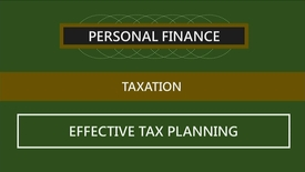 Thumbnail for entry F152 03-3 Effective Tax Planning