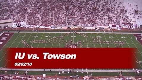 Thumbnail for entry 2010-09-02 vs Towson - Halftime