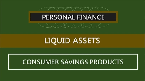 Thumbnail for entry F260 04-3 Consumer Savings Products