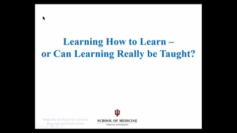 Thumbnail for entry Learning Strategies - 2016 Aug 17 09:57:21