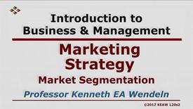 Thumbnail for entry X100_Lecture 20-Segment 2_Market Segmentation