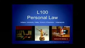 Thumbnail for entry L100_Lecture 15_Segment 3: How to find a lawyer