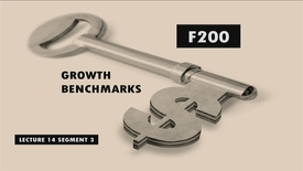 Thumbnail for entry F200_Lecture 14_Segment 3: Growth Benchmarks