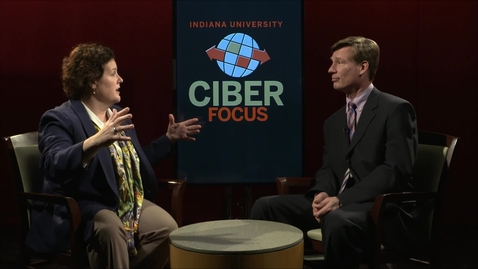 "Thumbnail for entry CIBER Focus: ""Globalization, Technology & International Business"" with Michele Honomichl  - February 16, 2018"
