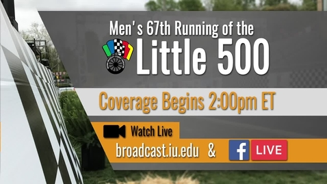 Thumbnail for entry IUSF Little 500 Men's Race