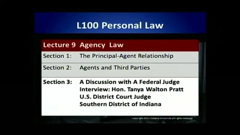 Thumbnail for entry L100 09-3 A Discussion with a Federal Judge