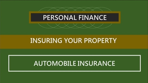 Thumbnail for entry F251 09-3 Automobile Insurance