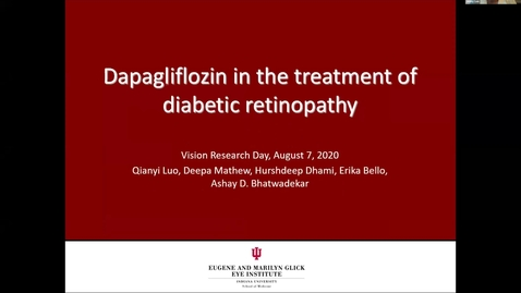 Thumbnail for entry Dapagliflozin in the treatment of diametic retinopathy